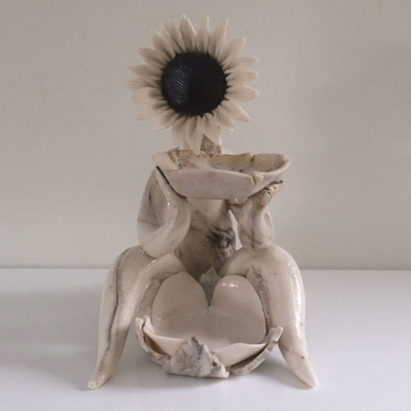 black sunflower oil burner