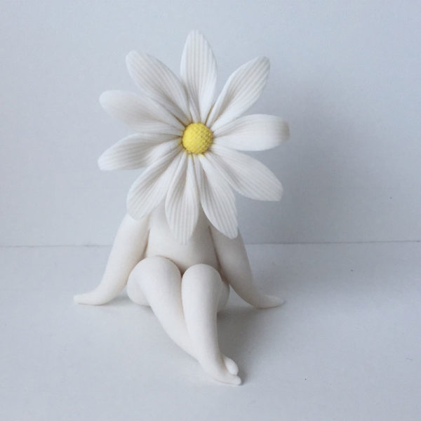Little Daisy Flower Sculpture