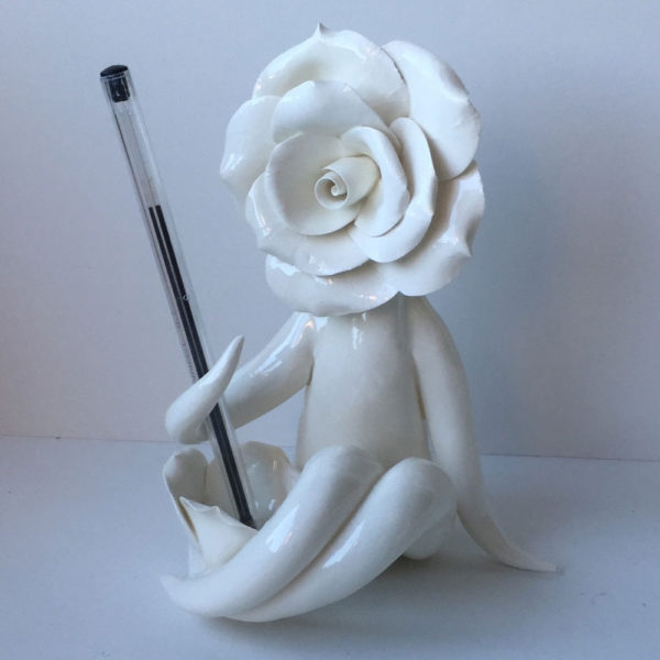 mrs rose pen holder