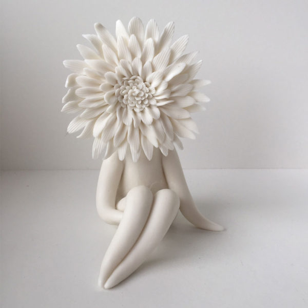chrysanthemum flower sculpture