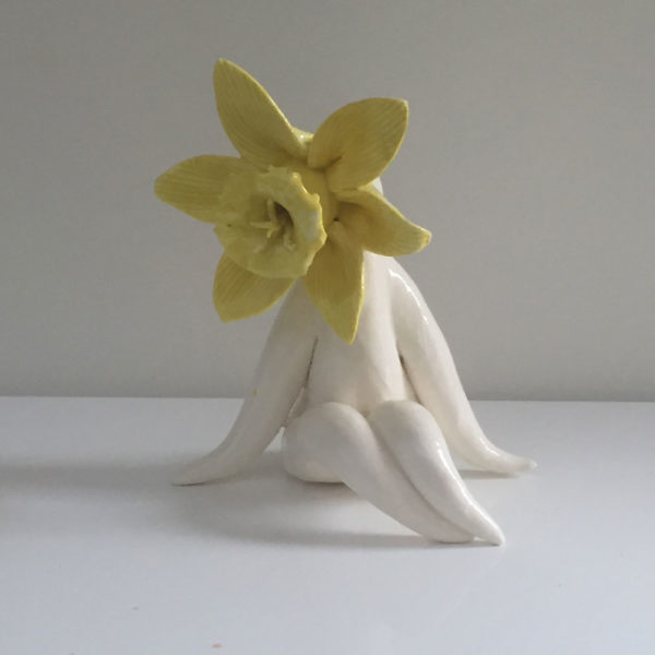 Little miss daff sculpture