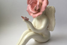 Pink Angel Rose Lady