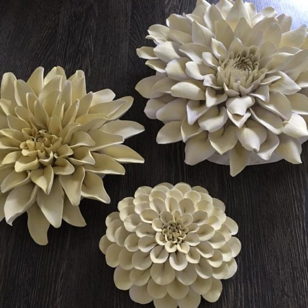 yellow Dahlia wall art
