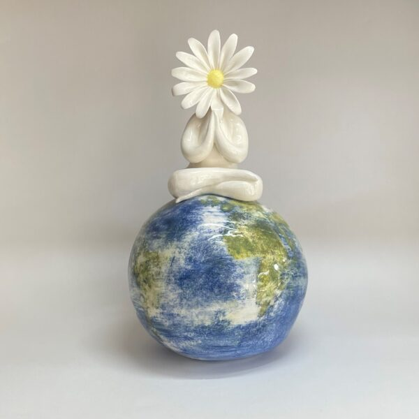 Daisy Lady on World Sculpture Save the World