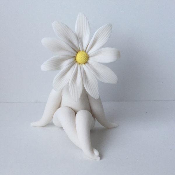 Little Daisy Flower Sculpture
