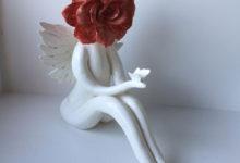 Large Angel Rose
