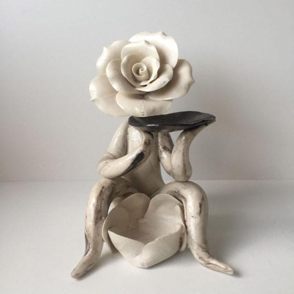 Rose Lady Oil Burner
