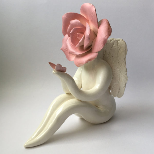 Pink Angel Rose Lady
