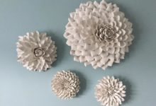 Macys Flowers Wall Art Dahlias