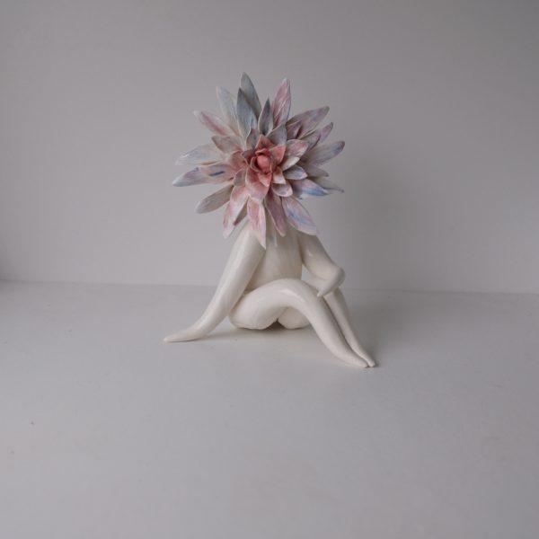 Spiky Ceramic Lady